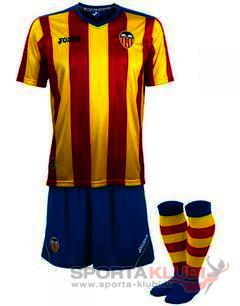 VALENCIA MINIKITS S/S YELLOW-RED-ROYAL (VA.107041.11)
