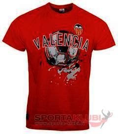 VALENCIA SHIRT S/S ORANGE-BLACK (VA.401061.11)