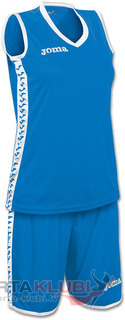 SET PIVOT WOMAN AZUL JERSEY+SHORTS (1227W002)