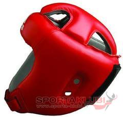 "Ķivere ""ADISTAR"" PRO HEAD GUARD RED ""Wako Model"" (ADIBH04-RED)"