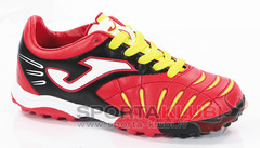 POWER JR 306 ROJO-NEGRO TURF (POJW.306.PT)