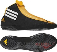 Wrestling shoes adiZERO SYDNEY BLACK1/WHT/COLGOL (G50324)