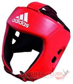 Amateur Training Boxing Headguard, red (AIBAH1T-RED)