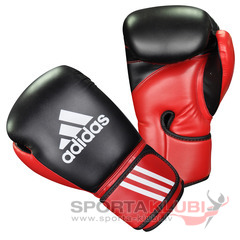 Cimdi Combat Sports Boxing Gloves (ADIBT03 - BLACK/RED)
