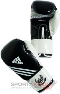 Fitness Boxing Glove, black/white (ADIBL05-BLACK/W)