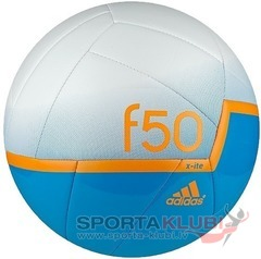 Football F50 X-ITE MINI SOLBLU/WHT/SOLZES (G82966)