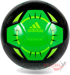 Football STARLANCER IV BLACK/VIVGRN/SOLSLI (G83970)