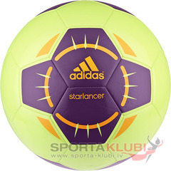 Football STARLANCER IV GLOW/TRIPUR/SOLZES (G83971)