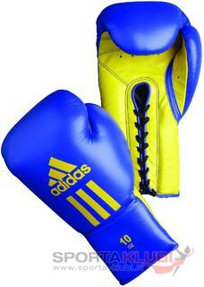 "Boxing gloves ""GLORY BLUE YELLOW"" Professional (ADIBC06-BLUE/Y)"