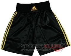 "Boxing Shorts ""MULTI"" Boxing Short ""140 grms"" BLACK/GOLDEN (ADISMB01)"