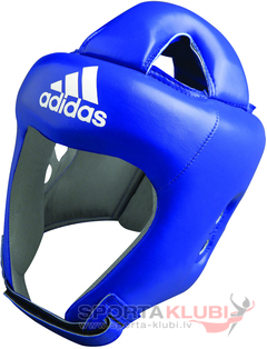 "Head Guard ""ADISTAR"" PRO HEAD GUARD BLUE ""Wako Model"" (ADIBH04-BLUE)"