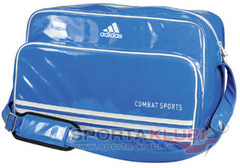 Soma Carry Bag - Blue Shiny PU with Combat Sport Printing (ADIACC110CS-COMBAT/BLUE)
