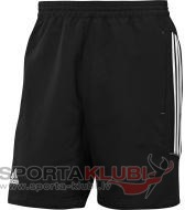 Pants T12 WV SHORTS M BLACK/WHT/MLEAD (X12928)