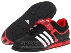 Weightlifting shoes powerlift.2 BLACK1/RUNWHT/VIVRED (Q33821)