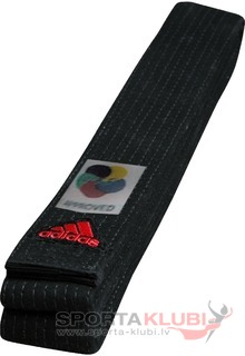"Elite Belt ""WKF"" 45 mm, black (ADIB240D240-BLACK)"