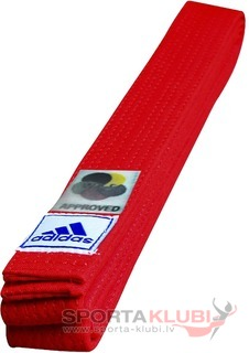 "Elite Belt ""WKF"" 45 mm, red (ADIB240D240-RED)"
