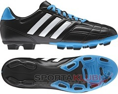 Football boots Goletto IV TRX FG BLACK1/RUNWHT/SOLBLU (F32943)