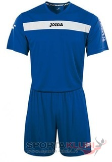 SET ACADEMY ROYAL-BCO JERSEY M/C+SHORT (KIT1.981.01)