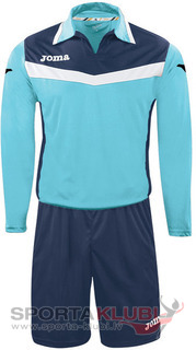 AREA II GOALKEEPER SET L/S TURQUOISE-NAVY+SHO (1155.99.006)