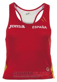 TOP COMP. ATLETISMO R.F.E.A. ROJO-AMARILLO (CAR.W0M38E60)