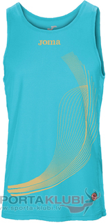 ELITE II SLEEVELESS SHIRT TURQUOISE-GOLD (1101.22.1031)