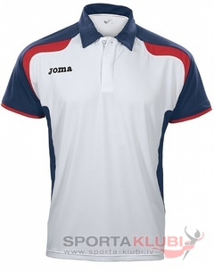 OPEN S/S MAN POLO SHIRT WHITE-NAVY-RED (2102.22.1021)