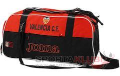 VALENCIA SPORT BAG BLACK-ORANGE (VA.515011.11)