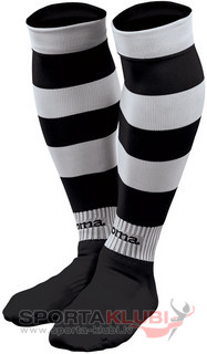 ZEBRA FOOTBALL SOCKS (PACK 5) BLACK-WHITE (ZEBRA 101)