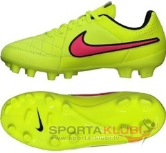 Kids football boots TiEMPO GENAIO LEATHER FG JR (630861-770)