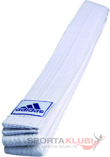 Rank Belt 40 mm white (ADIB200-E-W)
