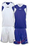 SET BASKET REVERSIBLE BLCO-MARIN JERSEY+SHORT (1184.008)