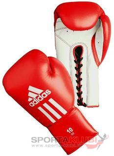 "Boxing gloves ""GLORY RED WHITE"" Professional (ADIBC06-R/W)"