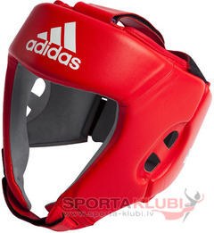 AIBA Boxing Headguard, red (AIBAH1-RED)