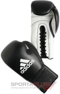 "Boxing gloves ""KOMBAT""  'PADDED THUMB' (ADIBC04-BLACK/W)"