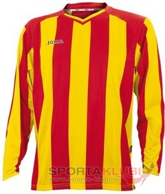 PISA CLASSIC RED-YELLOW L/S SHIRT (1066.99.010)
