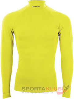 CAMISETA BRAMA M/LARGA COLOR AMARILLO FLUOR (3477.55.195S)