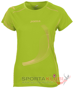 ELITE II WOMAN S/S SHIRT LIME (1101.22.2014)