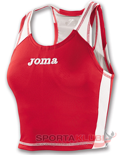 CAMISETA TIRANTES RECORD WOMAN ROJO (1001.23.2032)