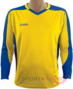 CAMISETA MUNDIAL M/LARGA AMARILLO-ROYAL (1119.99.008)