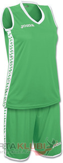 SET PIVOT WOMAN VERDE JERSEY+SHORTS (1227W004)