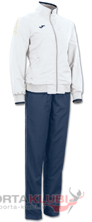 CHANDAL CAMPUS WOMAN POLY. BLANCO-MARINO (2110.33.2041)