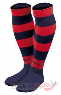 ZEBRA FOOTBALL SOCKS (PACK 5) NAVY-RED (ZEBRA 111)