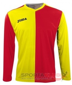 PREMIER L/S SHIRT RED-YELLOW (1148.99.005)