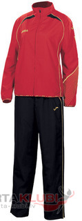 ELITE II WOMAN MICRO-LIGHT TRACKSUIT RED-BLK (1110.22.2013)
