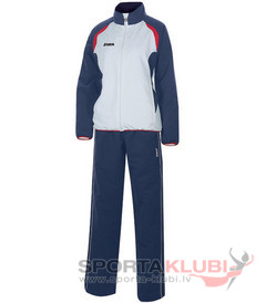 OPEN MICRO.WOMAN TRACKSUIT NAVY-WHITE (2110.22.2021)