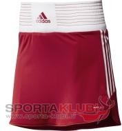 BOX SKORT W UNIRED/WHT (X12334)