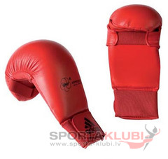 "WKF Karate Mitt ""Bigger"" red (661.22-RED)"