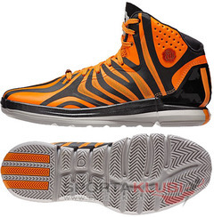 Basketball Footwear D ROSE 4.5 CARBON/SOLZES/MIDGRE (G99361)