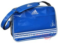Soma Carry Bag - Blue Shiny PU with Boxing Club Printing (ADIACC110CS-BOX/BLUE)