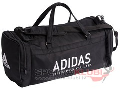 Soma Sports Bag Strong Nylon Parachute Square with Boxing Club Printing (ADIACC104/BOX)